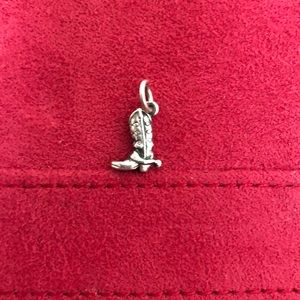 Retired James Avery Cowboy Boot Charm